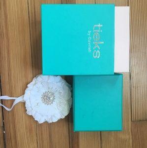 Tieks box with flower